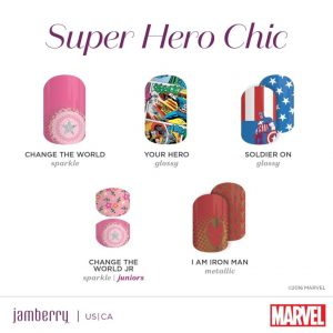 MARVEL Presented by Jamberry