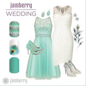 Jamberry wedding nails